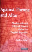 Image For AGAINST THRONE AND ALTER - Paperback