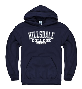 Cover Image For HOODED SWEATSHIRT - NAVY ALUMNI