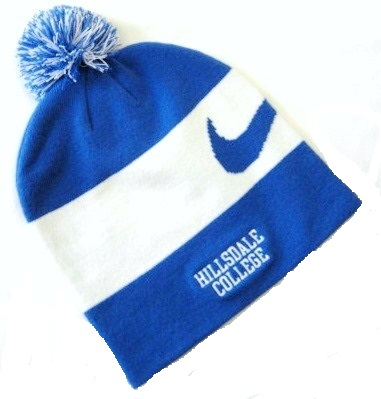 Cover Image For BEANIE - ROYAL BLUE/WHITE STRIP