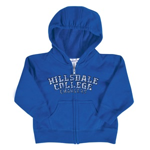 Image For HOODED SWEATSHIRT - ROYAL TODDLER