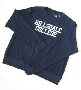 Cover Image For SWEATSHIRT - LADIES' NAVY BLUE