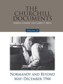 Cover Image For CHURCHILL DOCUMENTS - VOLUME 20