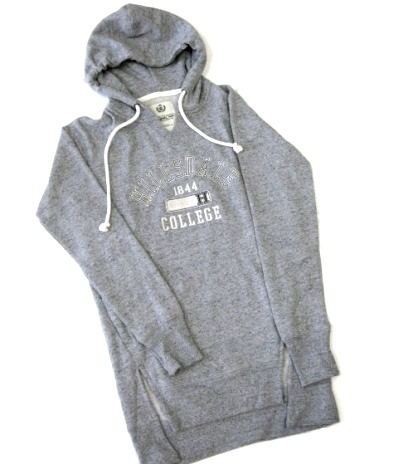 Image For HOODED TUNIC - LADIES' GRAY HEATHER
