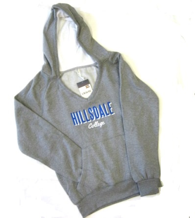 Image For HOODED SWEATSHIRT - LADIES' GRAY