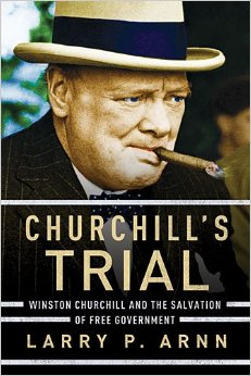 Cover Image For CHURCHILL'S TRIAL: