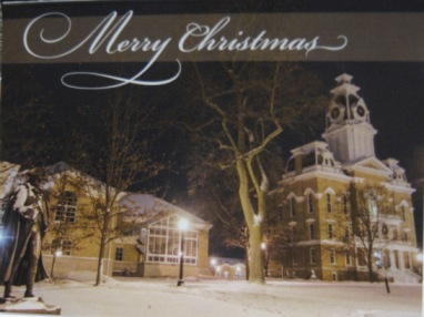 Image For CHRISTMAS CARD - CENTRAL HALL