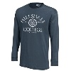 Image for T-SHIRT - LONG SLEEVE NAVY ALUMNI
