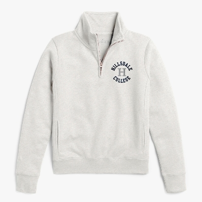 Image For JACKET - LADIES' OATMEAL 1/4 ZIP