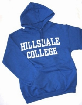 Image For HOODED SWEATSHIRT - ROYAL BLUE BASIC