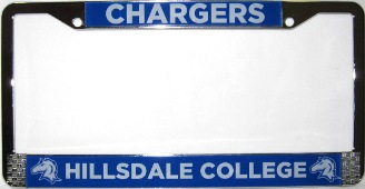 Cover Image For LICENSE FRAME - CHARGERS