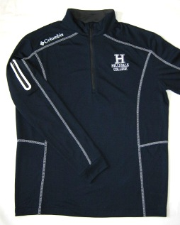 Image For JACKET - COLUMBIA NAVY 1/4 ZIP