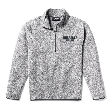 Cover Image For JACKET - GRAY 1/4 ZIP