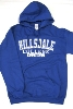Image for HOODED SWEATSHIRT - ROYAL BLUE FOOTBALL