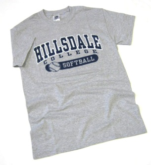 Cover Image For T- SHIRT - GRAY SOFTBALL