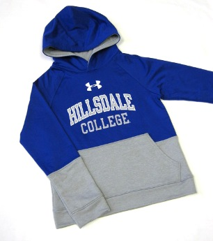 Image For HOODED SWEATSHIRT - ROYAL BLUE YOUTH UNDER ARMOUR