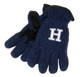 Image For GLOVE - NAVY BLUE FLEECE LARGE