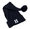 Image for KNIT HAT - NAVY BLUE SANTA STYLE