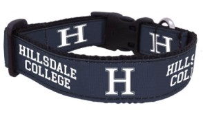 Image For DOG COLLAR - NAVY LARGE