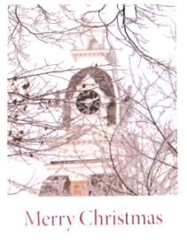 Cover Image For CHRISTMAS CARD - CLOCK TOWER