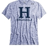 Image for T-SHIRT - BLUE HEATHER