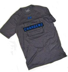 Image For T-SHIRT - CHARCOAL GRAY UNDER ARMOUR