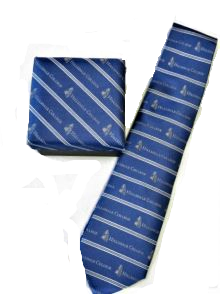 Image For TIE - NAVY BLUE/GRAY