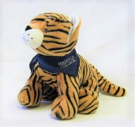 Image For PLUSH TIGER 12""