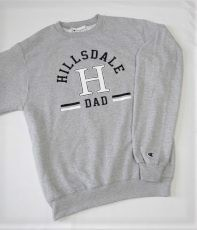 Cover Image For SWEATSHIRT - GRAY DAD