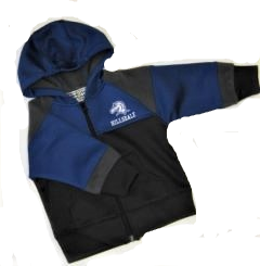 Image For JACKET - BLUE/BLACK TODDLER/YOUTH FULL ZIP