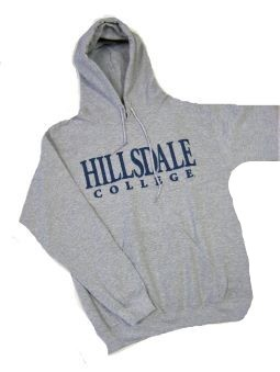 Image For HOODED SWEATSHIRT - GRAY