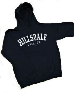 Image For HOODED SWEATSHIRT - NAVY BLUE