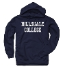 Cover Image for HOODED SWEATSHIRT - NAVY BLUE BASIC
