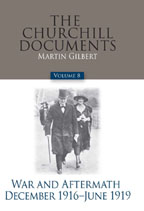 Image For CHURCHILL DOCUMENTS - VOLUME 8