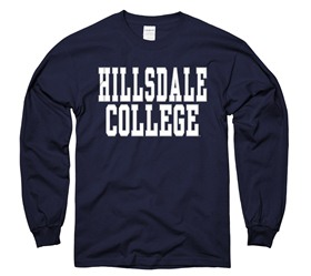 Cover Image For T-SHIRT - LONG SLEEVE NAVY BASIC