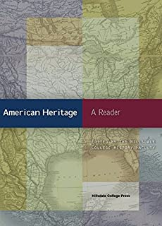 Cover Image For AMERICAN HERITAGE: A READER