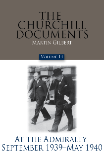 Cover Image For CHURCHILL DOCUMENTS - VOLUME 14