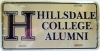 Image for LICENSE PLATE - ALUMNI