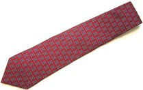 Image For TIE - RED/NAVY